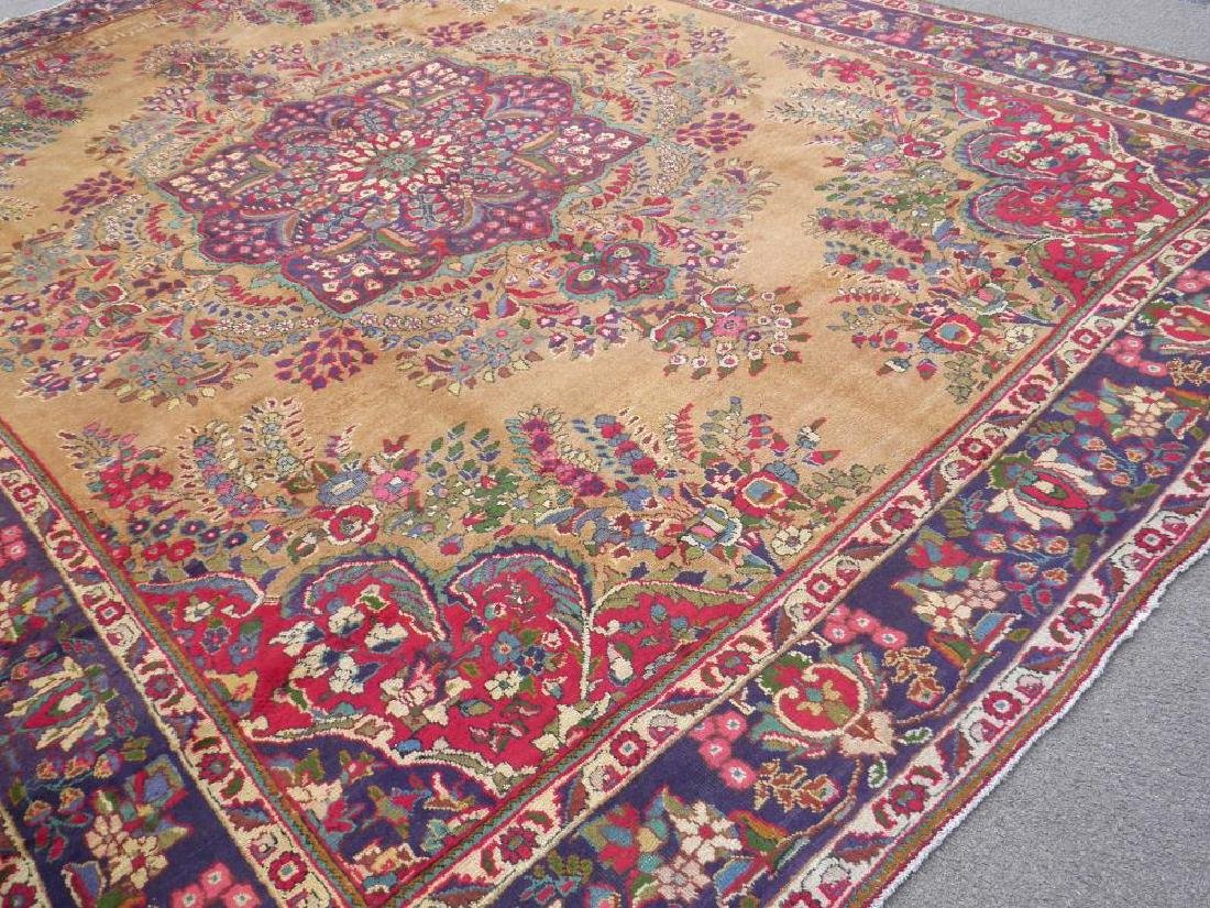 Spectacular Semi Antique Persian Tabriz 13.2x9.9 - 2