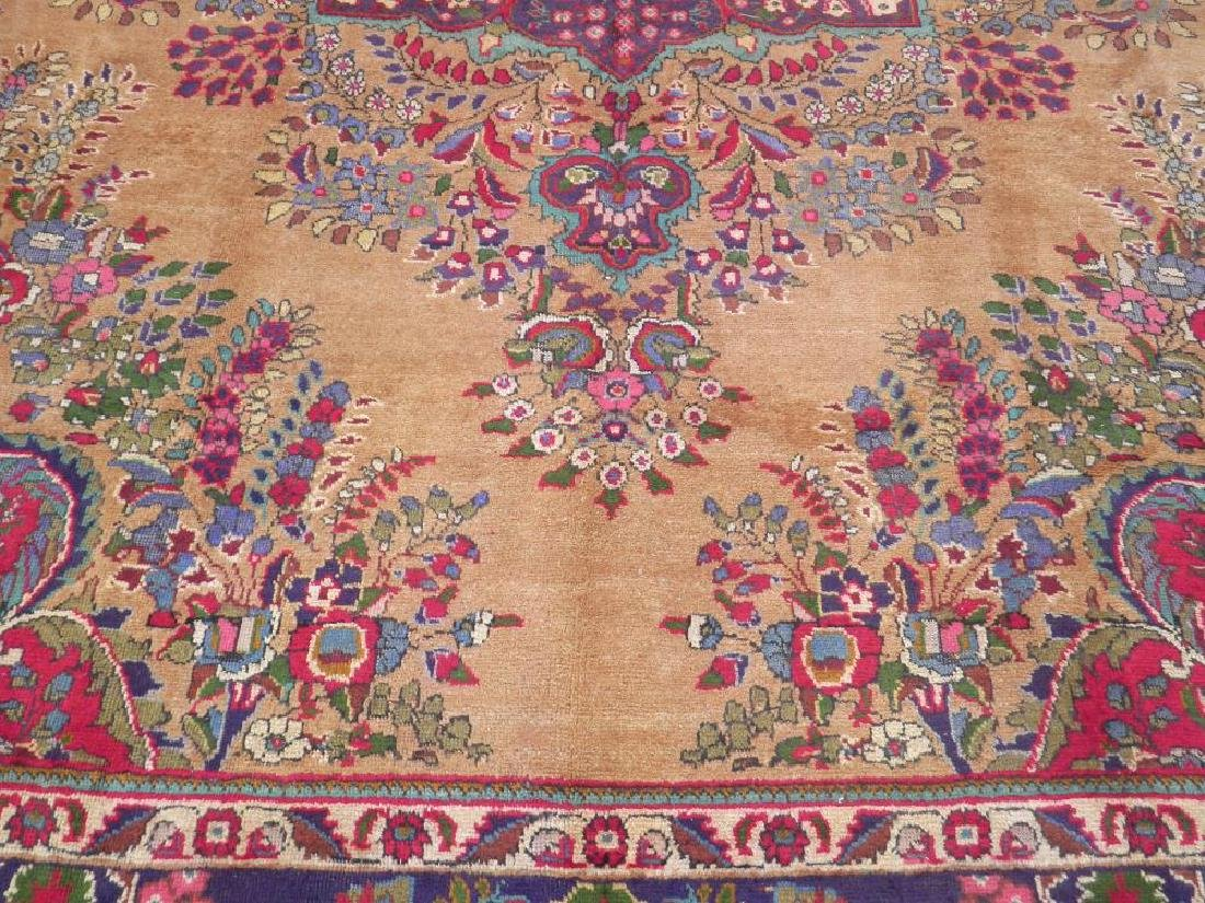 Spectacular Semi Antique Persian Tabriz 13.2x9.9 - 4