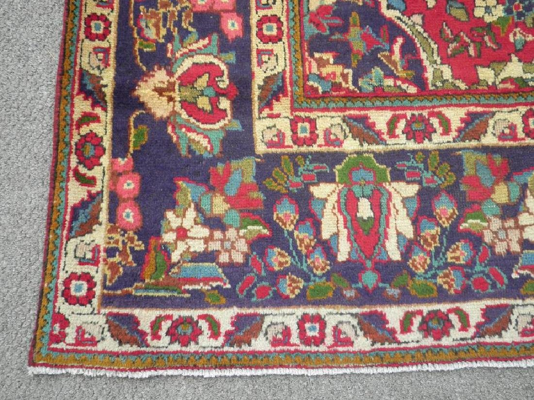 Spectacular Semi Antique Persian Tabriz 13.2x9.9 - 6