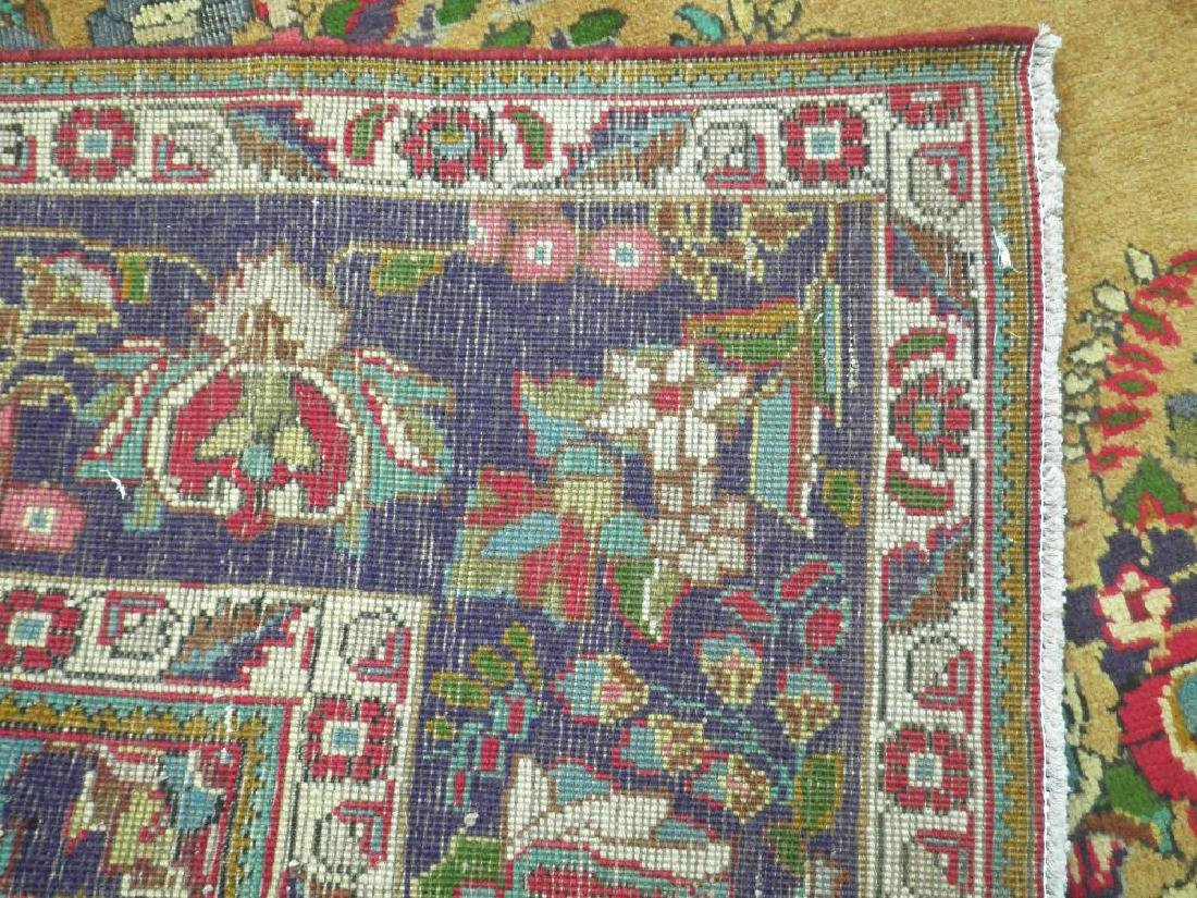 Spectacular Semi Antique Persian Tabriz 13.2x9.9 - 7