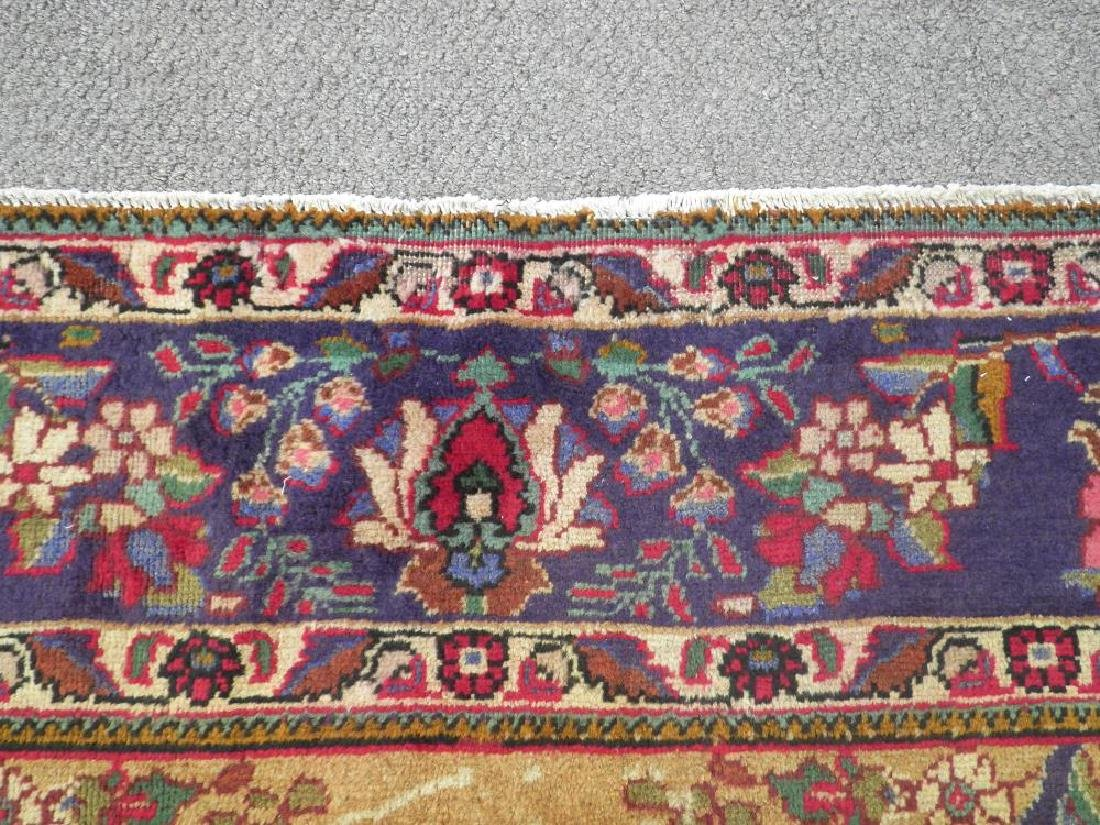 Spectacular Semi Antique Persian Tabriz 13.2x9.9 - 8