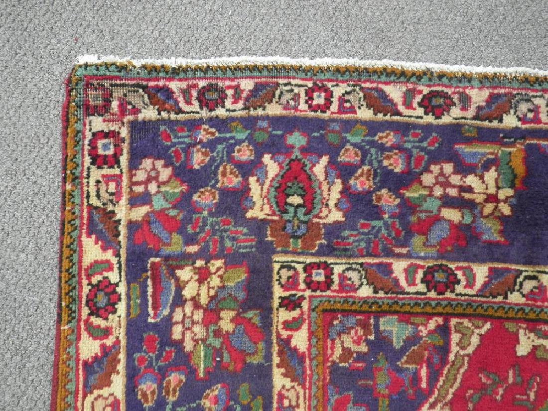 Spectacular Semi Antique Persian Tabriz 13.2x9.9 - 9