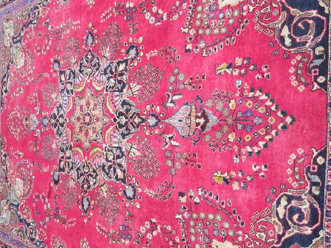 Quite Mesmerizing Semi Antique Persian Tabriz 12.7x9.10 - 3