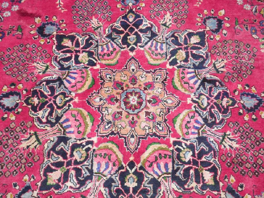 Quite Mesmerizing Semi Antique Persian Tabriz 12.7x9.10 - 4
