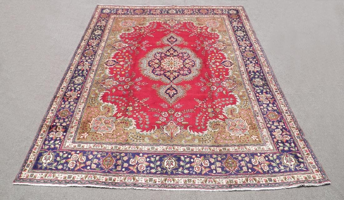 Extremely Gorgeous Semi Antique Persian Tabriz 13.2x9.8