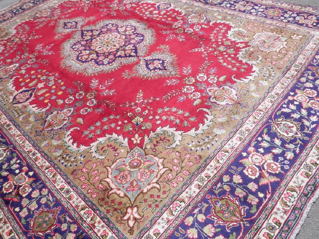 Extremely Gorgeous Semi Antique Persian Tabriz 13.2x9.8 - 2