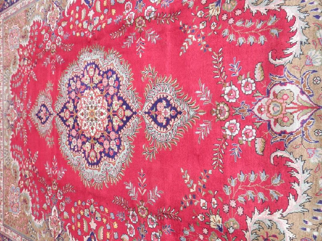 Extremely Gorgeous Semi Antique Persian Tabriz 13.2x9.8 - 3