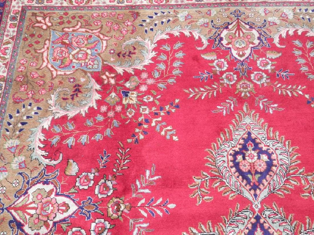 Extremely Gorgeous Semi Antique Persian Tabriz 13.2x9.8 - 6