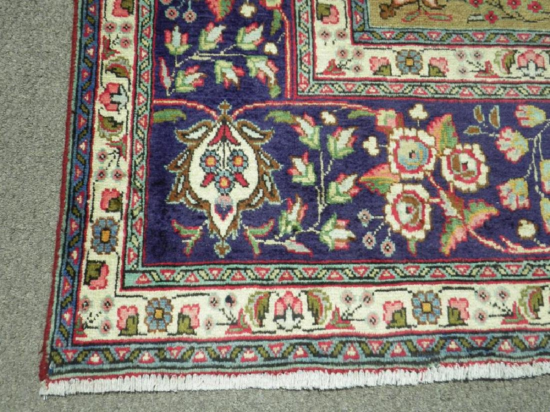 Extremely Gorgeous Semi Antique Persian Tabriz 13.2x9.8 - 7