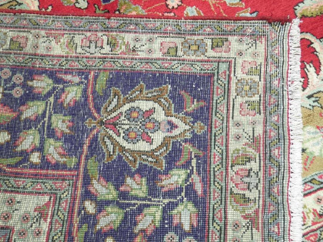 Extremely Gorgeous Semi Antique Persian Tabriz 13.2x9.8 - 8