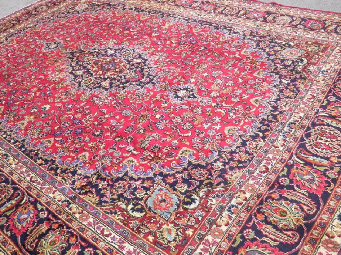 Simply Gorgeous Semi Antique Persian Mashhad 12.6x9.7 - 2