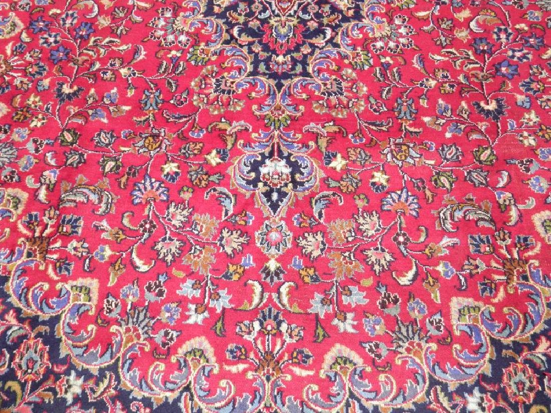 Simply Gorgeous Semi Antique Persian Mashhad 12.6x9.7 - 4