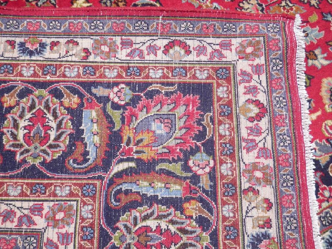 Simply Gorgeous Semi Antique Persian Mashhad 12.6x9.7 - 7