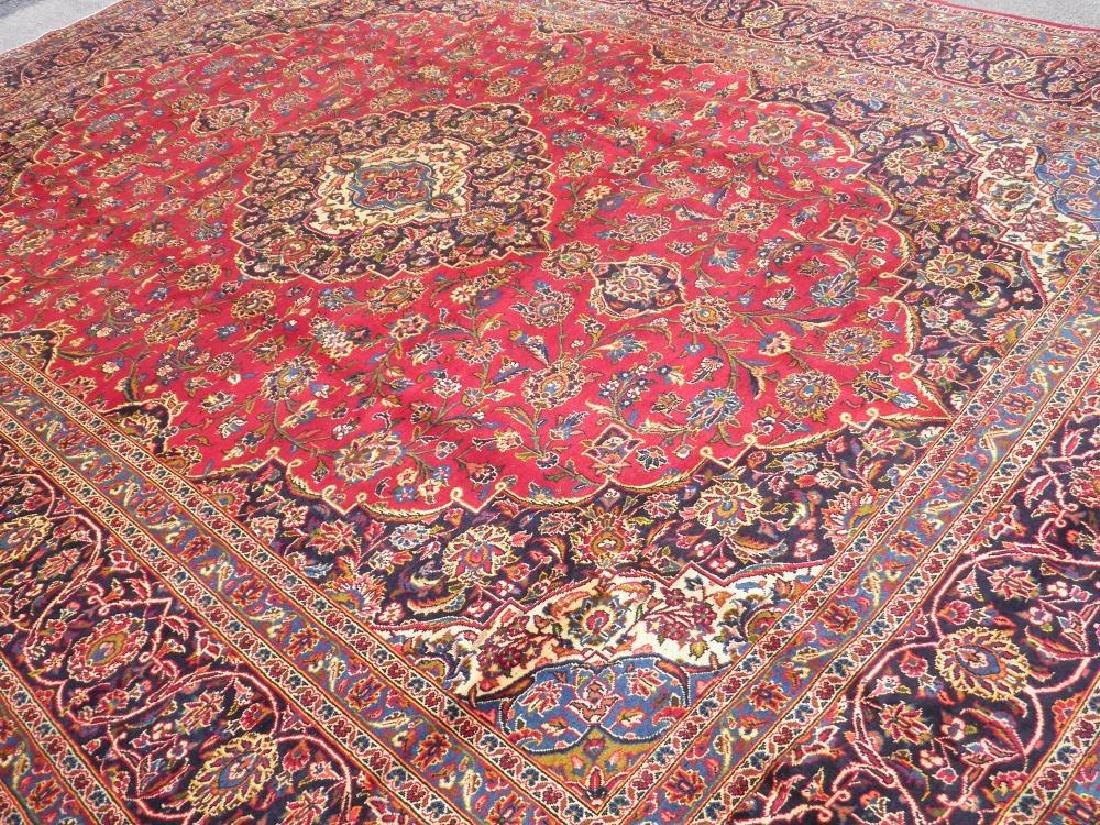 Simply Sensational Semi Antique Persian Kashan 13.3x9.8 - 2