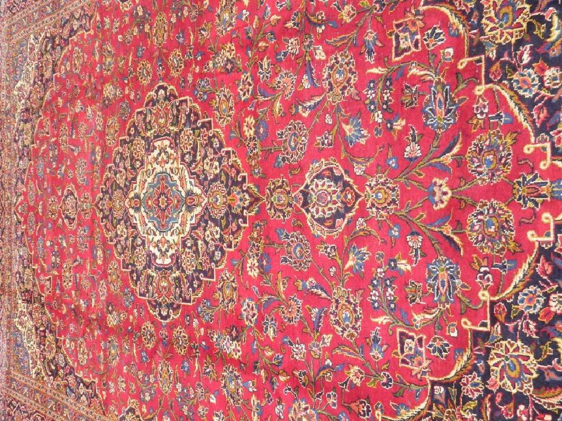 Simply Sensational Semi Antique Persian Kashan 13.3x9.8 - 3