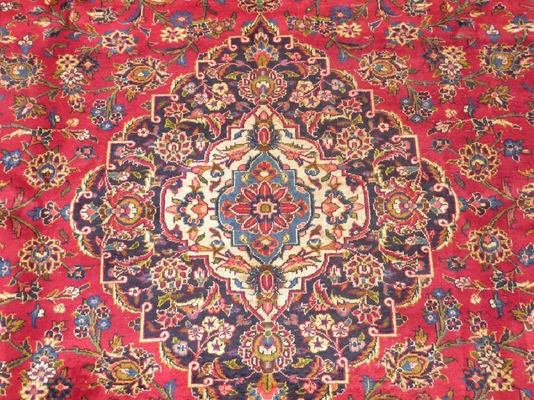 Simply Sensational Semi Antique Persian Kashan 13.3x9.8 - 4