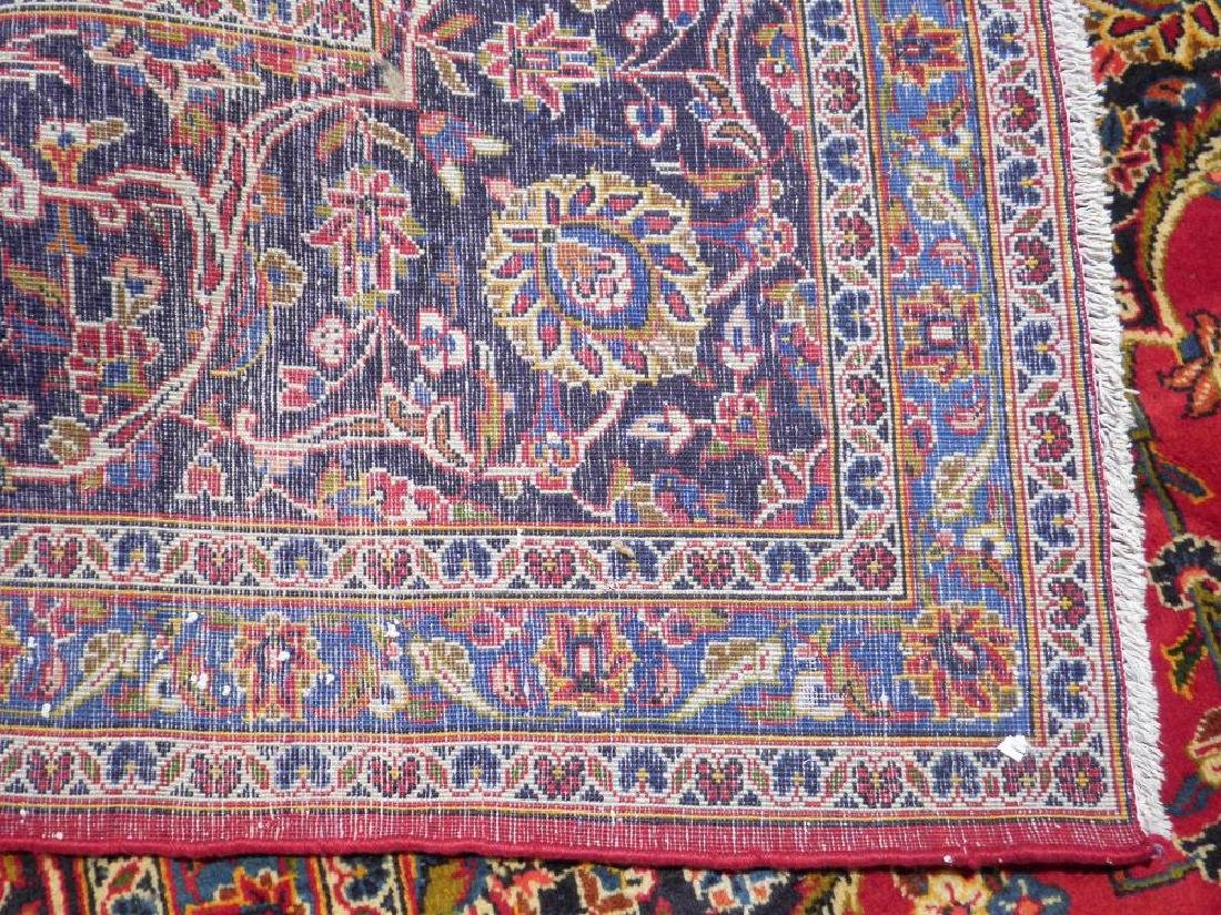 Simply Sensational Semi Antique Persian Kashan 13.3x9.8 - 6