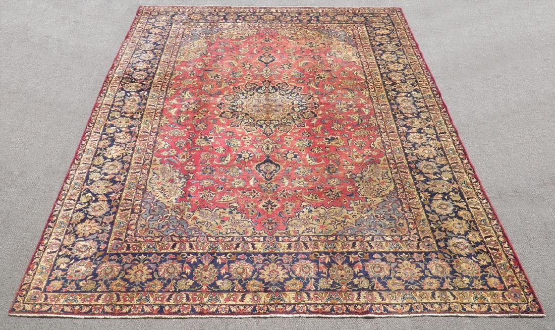 Admirable Semi Antique Persian Najafabad 14.3x10.4