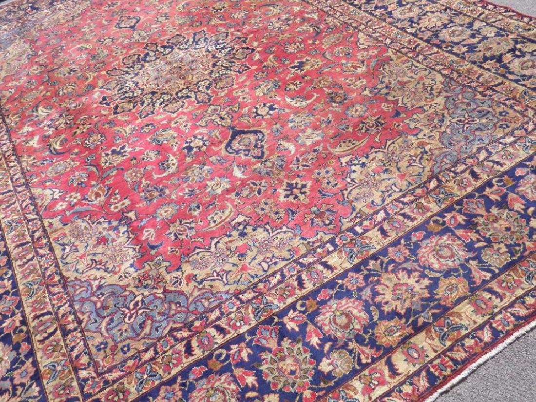 Admirable Semi Antique Persian Najafabad 14.3x10.4 - 2