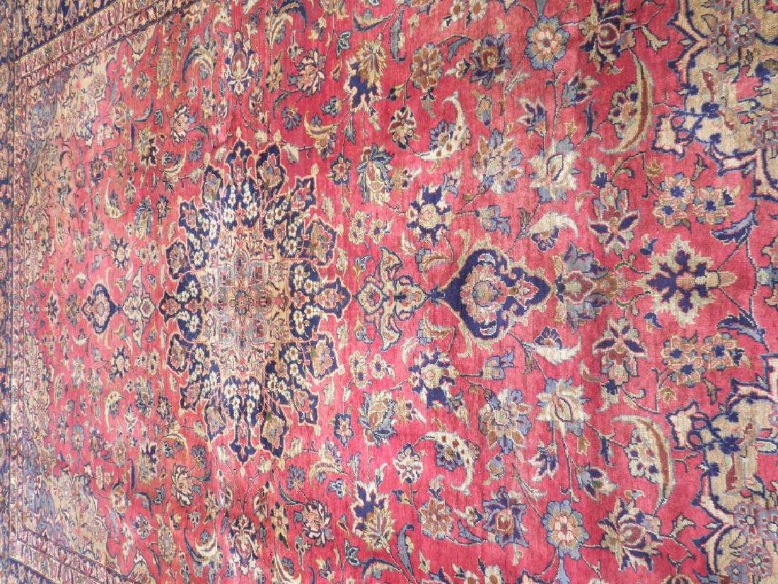 Admirable Semi Antique Persian Najafabad 14.3x10.4 - 4