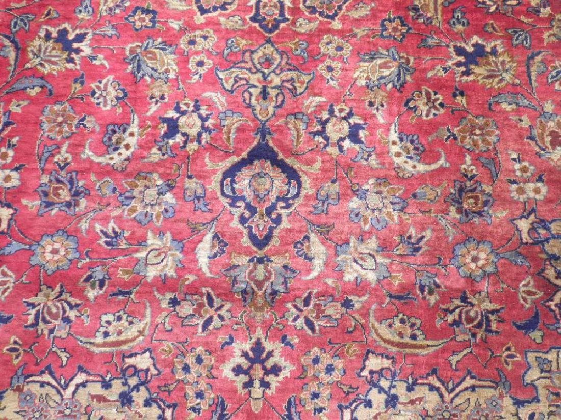 Admirable Semi Antique Persian Najafabad 14.3x10.4 - 5