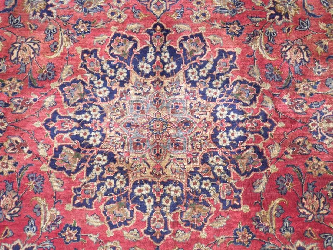 Admirable Semi Antique Persian Najafabad 14.3x10.4 - 6