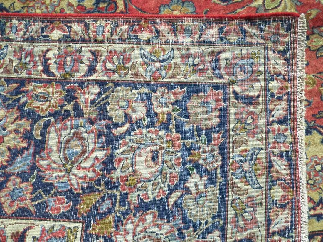 Admirable Semi Antique Persian Najafabad 14.3x10.4 - 9