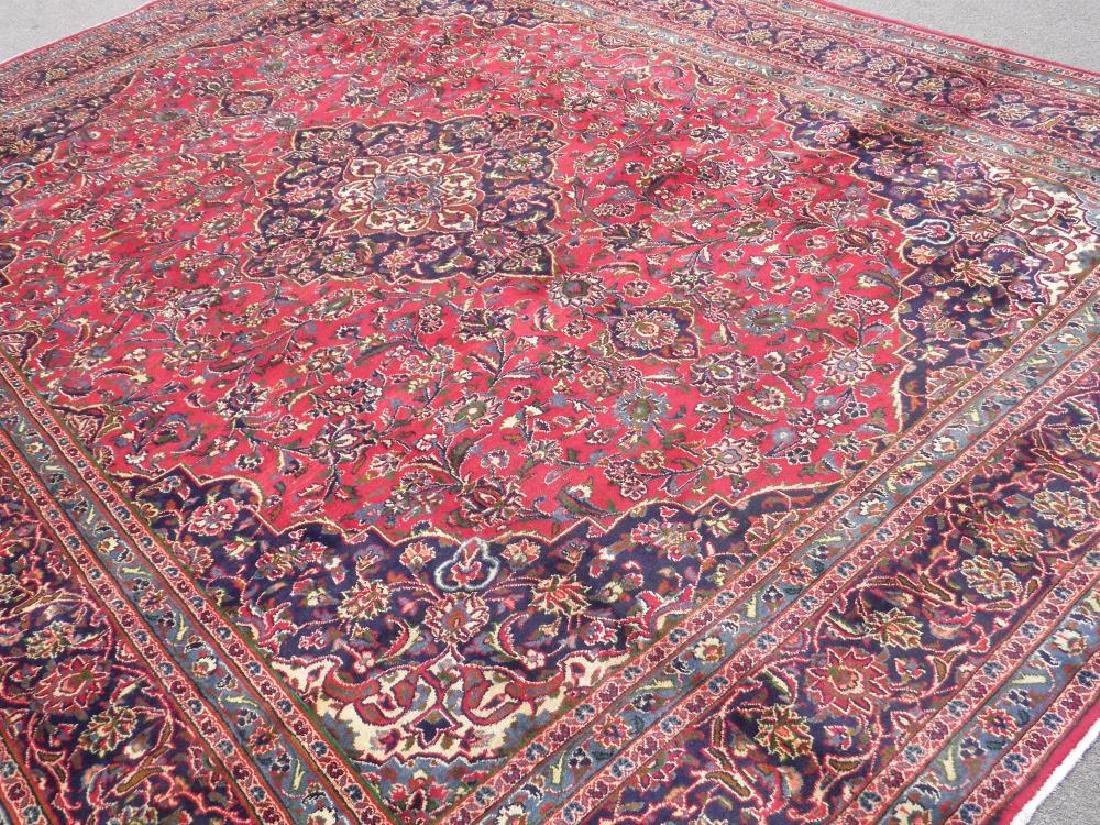 Detailed Floral Semi Antique Persian Mashhad 12.7x9.7 - 2
