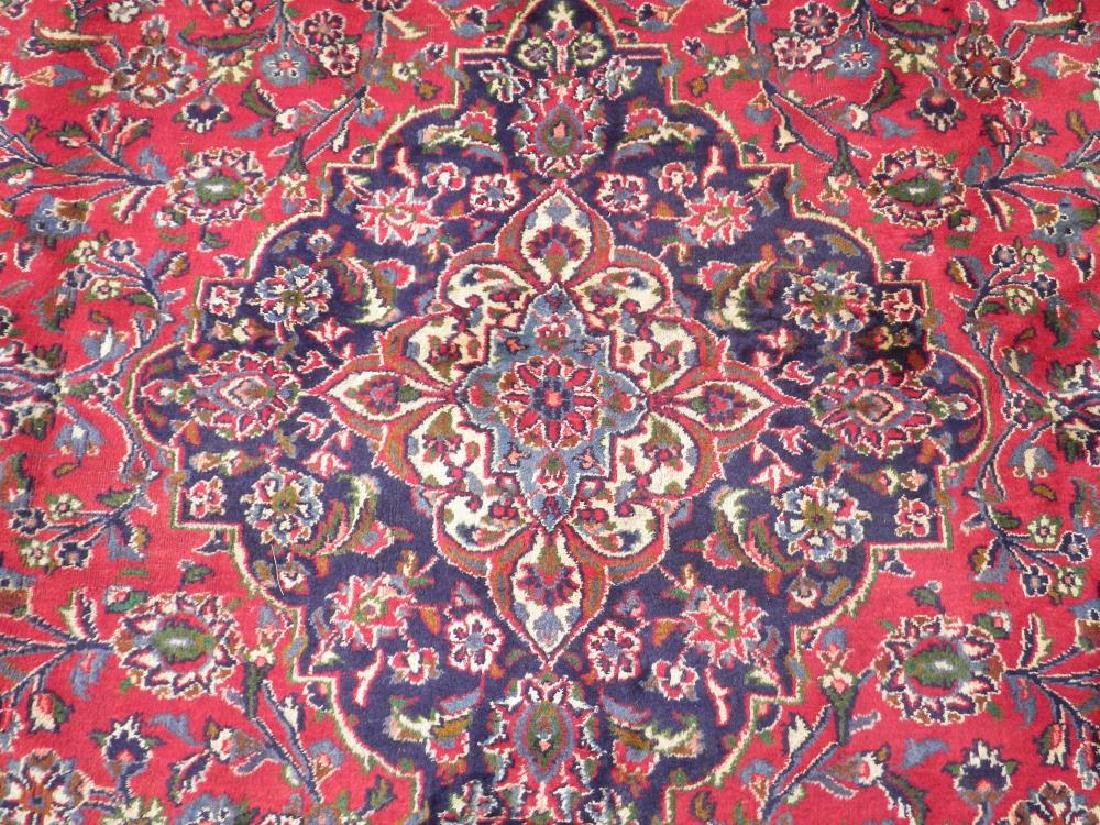 Detailed Floral Semi Antique Persian Mashhad 12.7x9.7 - 4