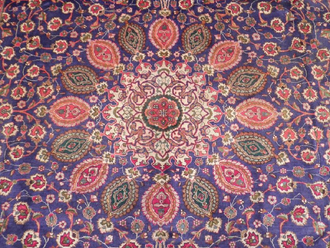 Charming/Colorful Semi Antique Persian Tabriz 12.2x9.7 - 4