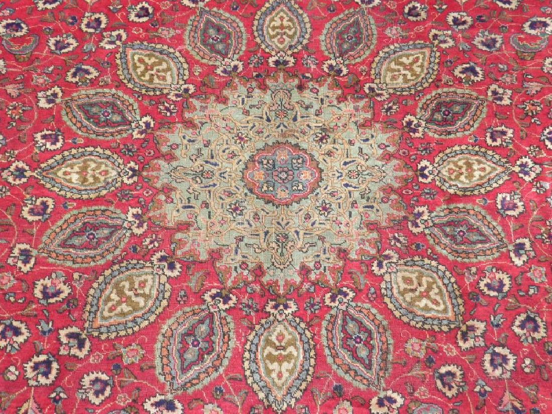 Extremely Gorgeous Semi Antique Persian Tabriz 12.6x9.7 - 4
