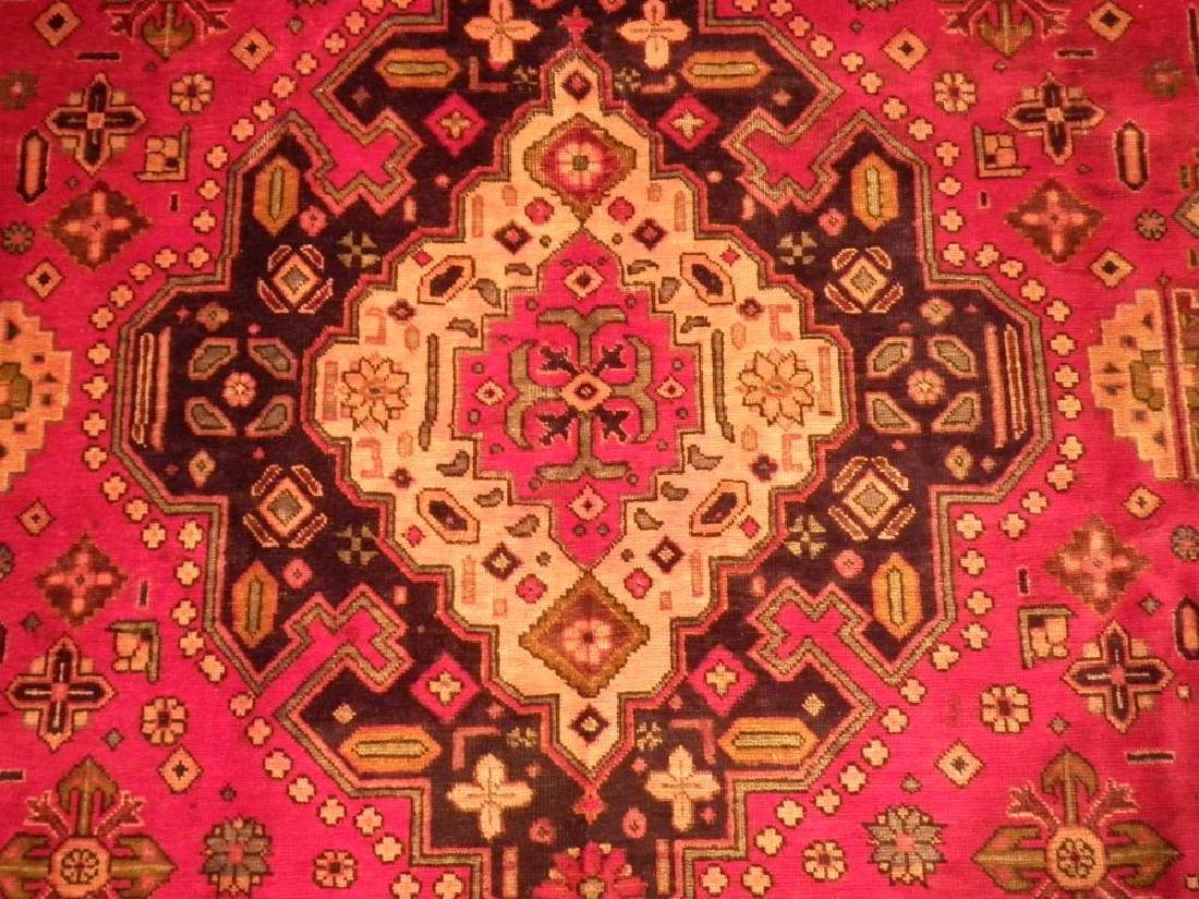 Rare Geometric Semi Antique Persian Tabriz 8.6x10.7 - 4