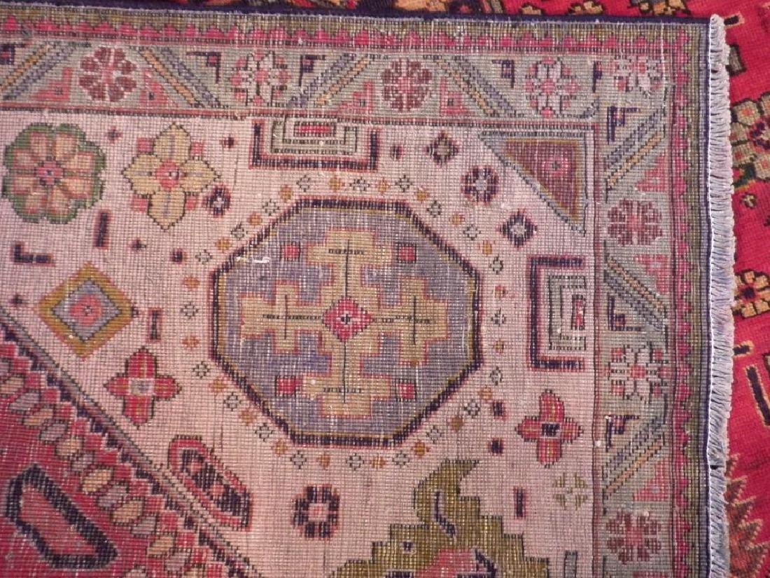 Rare Geometric Semi Antique Persian Tabriz 8.6x10.7 - 6