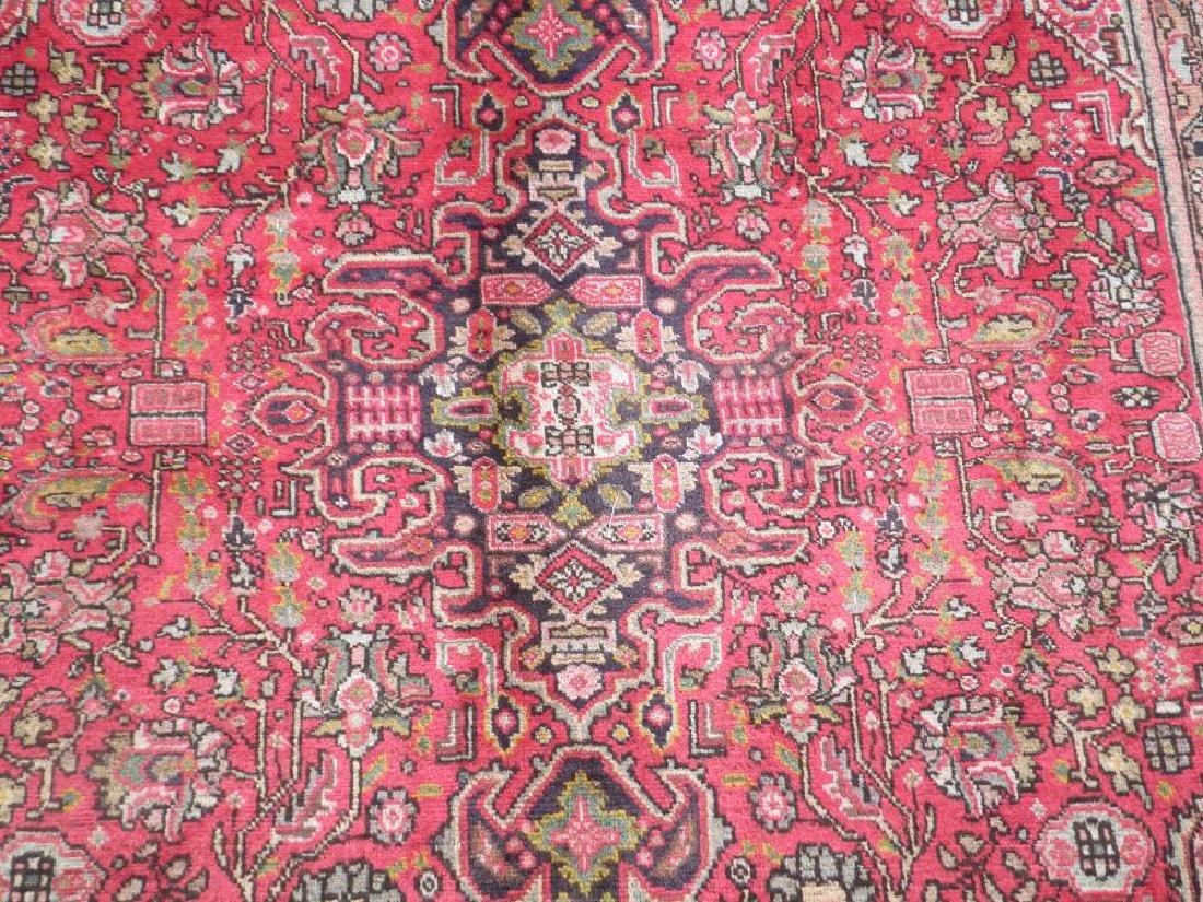 Detailed Semi Antique Persian Tabriz 6.7x9.9 - 3