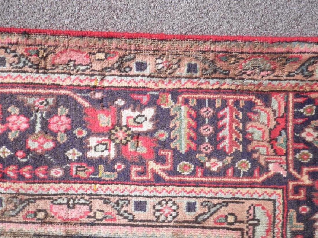 Detailed Semi Antique Persian Tabriz 6.7x9.9 - 4