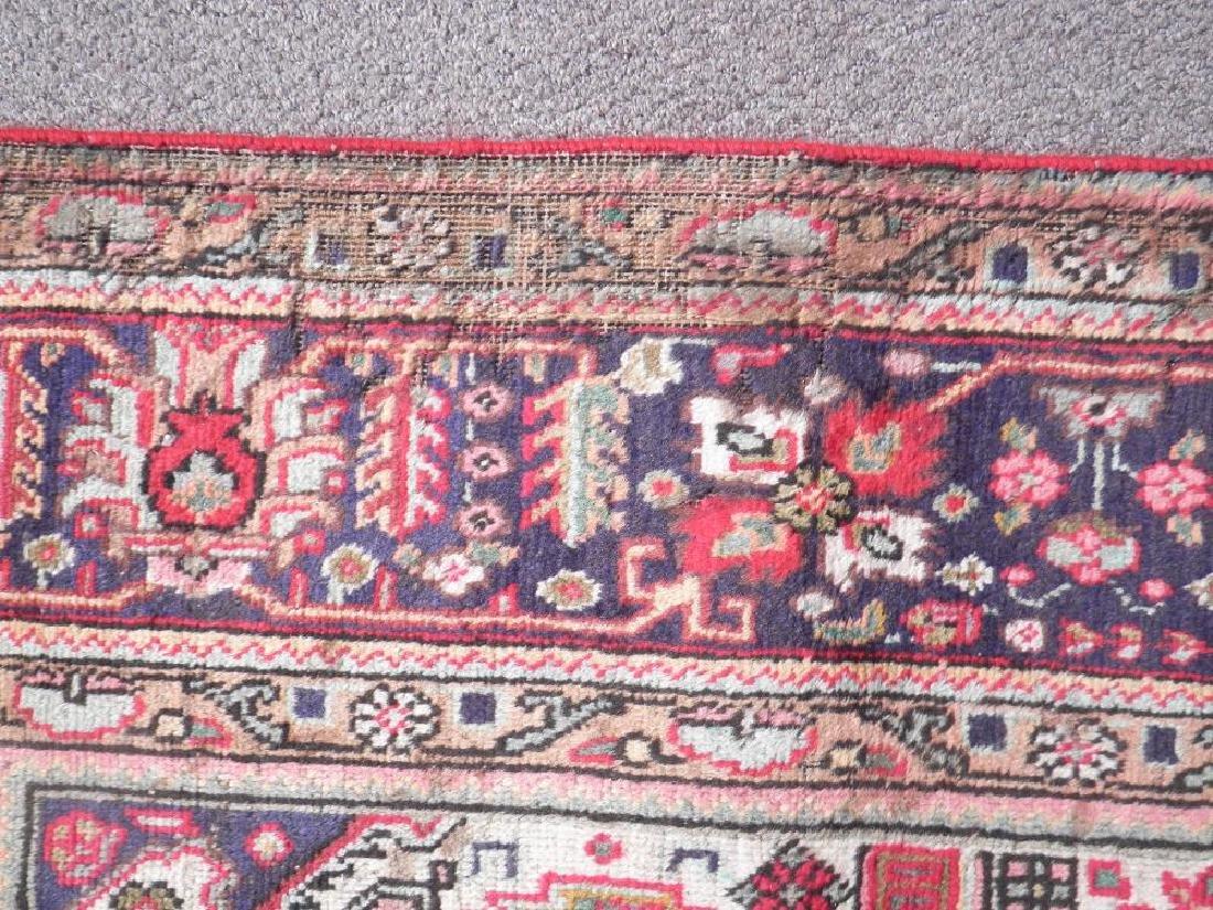 Detailed Semi Antique Persian Tabriz 6.7x9.9 - 5
