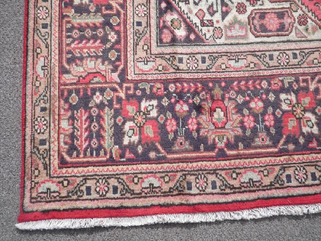 Detailed Semi Antique Persian Tabriz 6.7x9.9 - 6