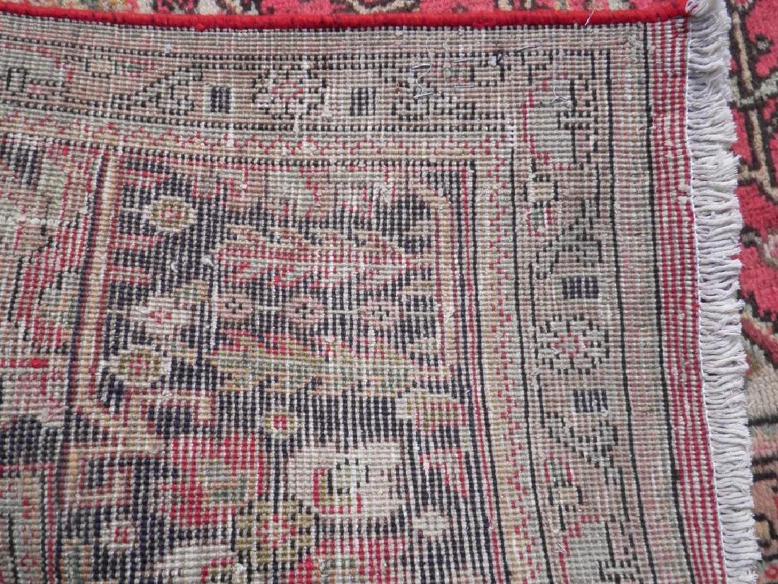 Detailed Semi Antique Persian Tabriz 6.7x9.9 - 7