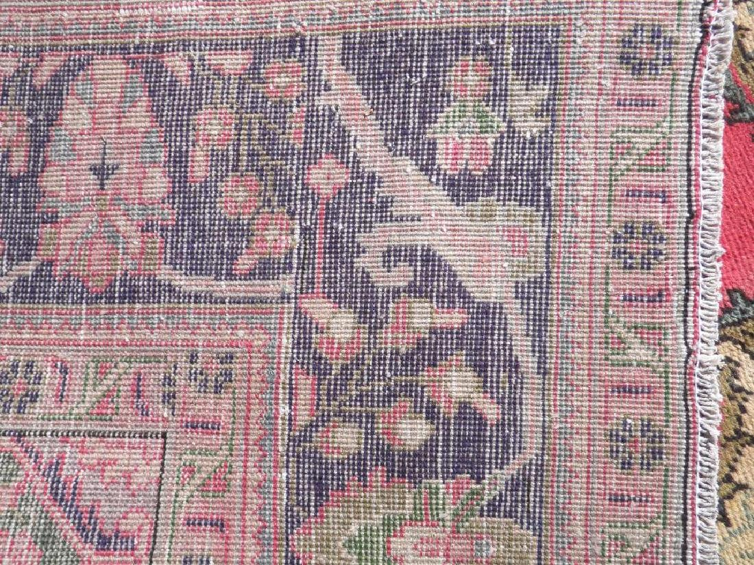Finely Knotted Semi Antique Persian Tabriz 9.1x6.5 - 6