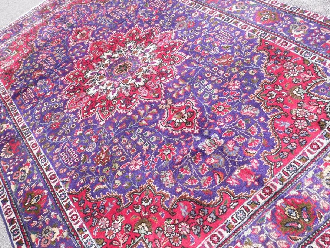 Charming/Colorful Semi Antique Persian Tabriz 10x6.8 - 2