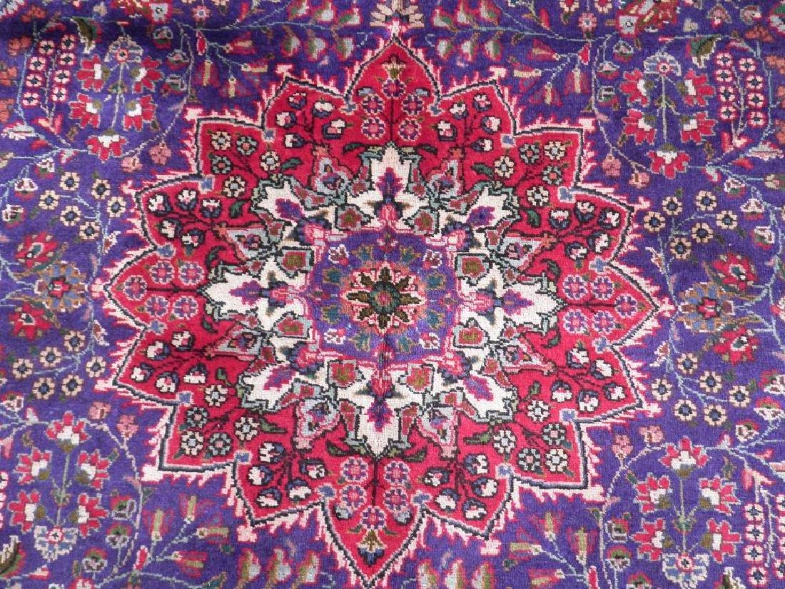 Charming/Colorful Semi Antique Persian Tabriz 10x6.8 - 4