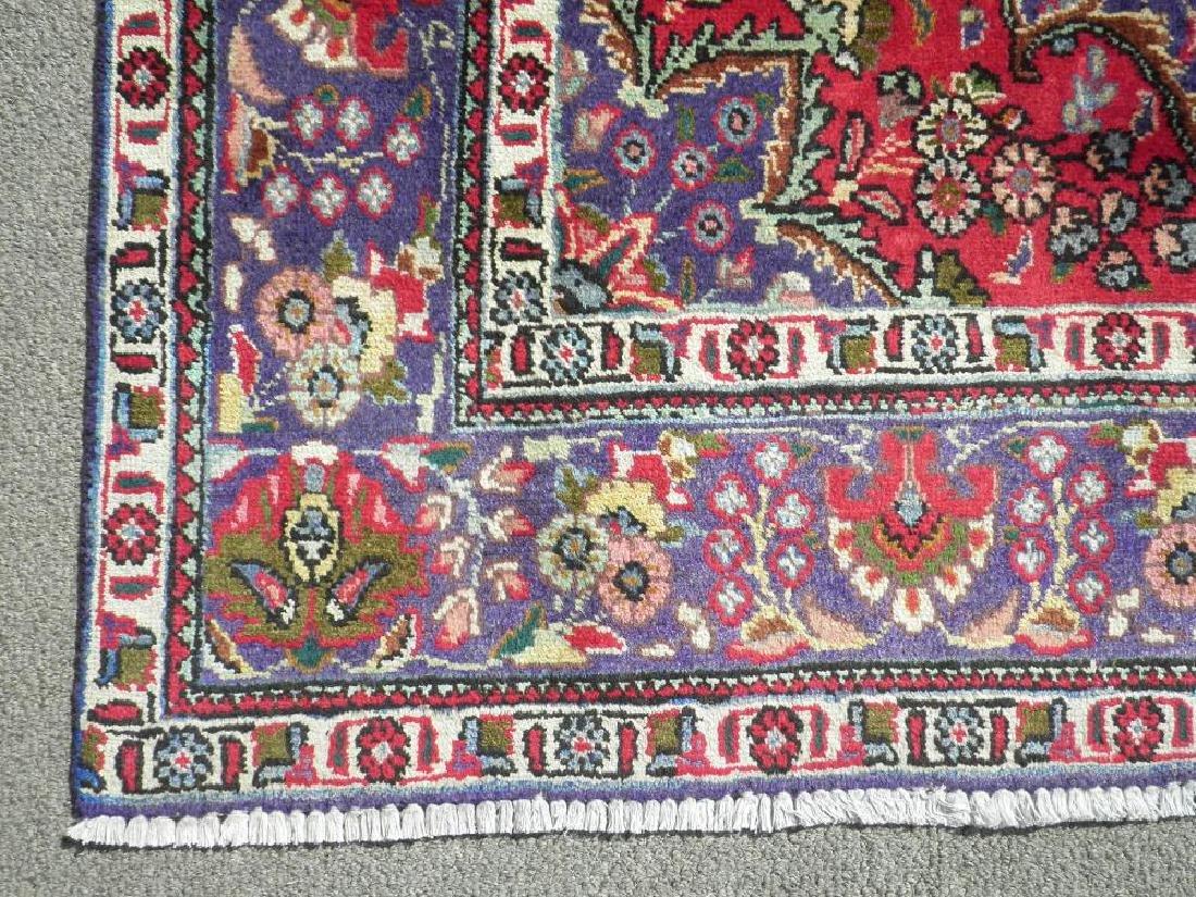 Charming/Colorful Semi Antique Persian Tabriz 10x6.8 - 5