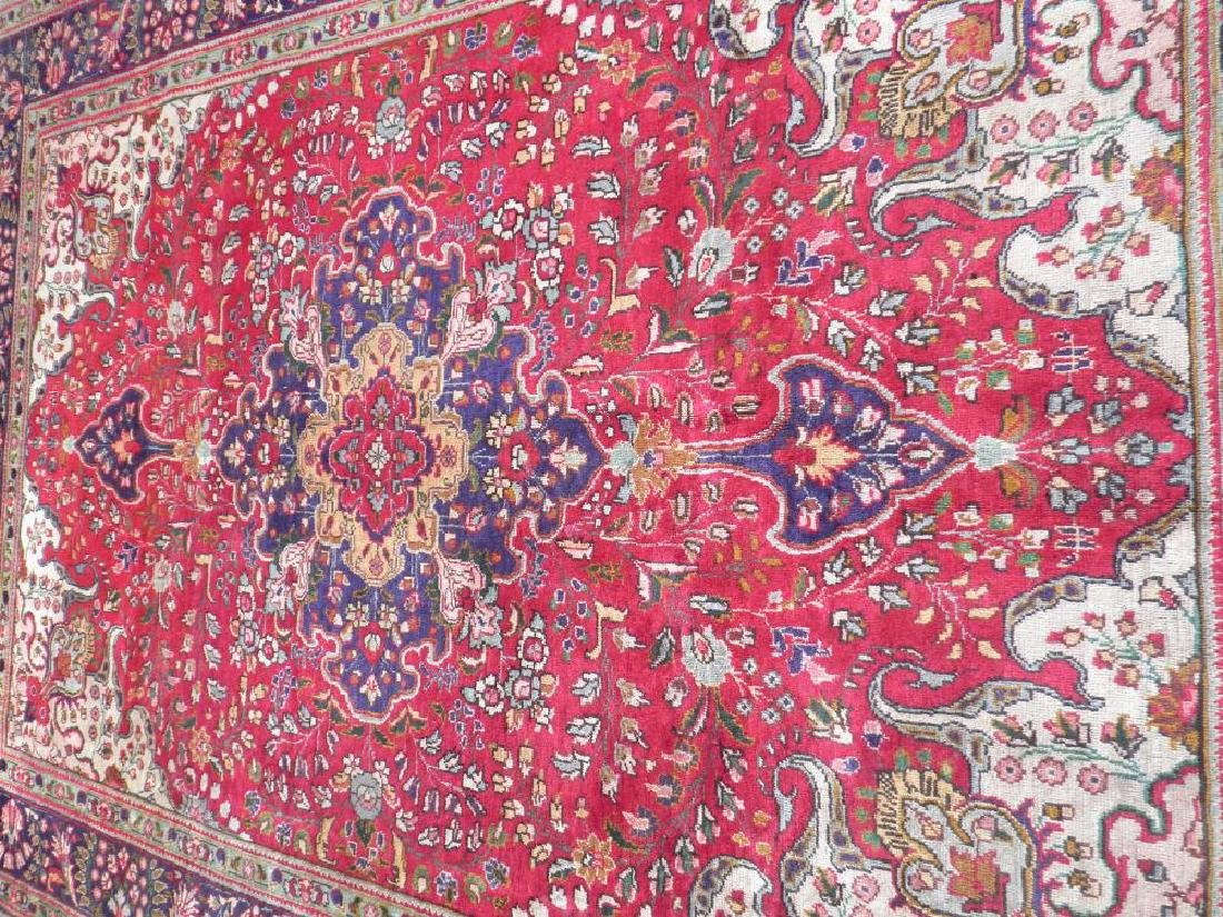 Highly Collectible Semi Antique Persian Tabriz 9.7x6.5 - 3