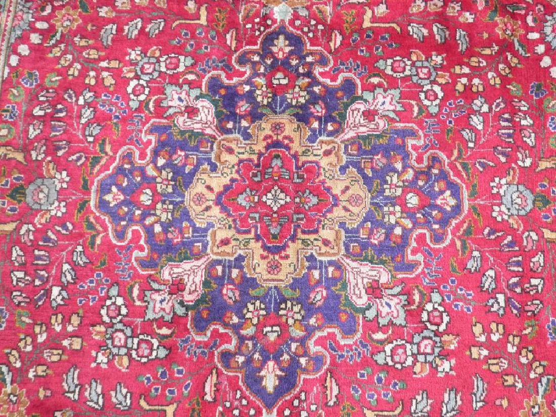 Highly Collectible Semi Antique Persian Tabriz 9.7x6.5 - 4