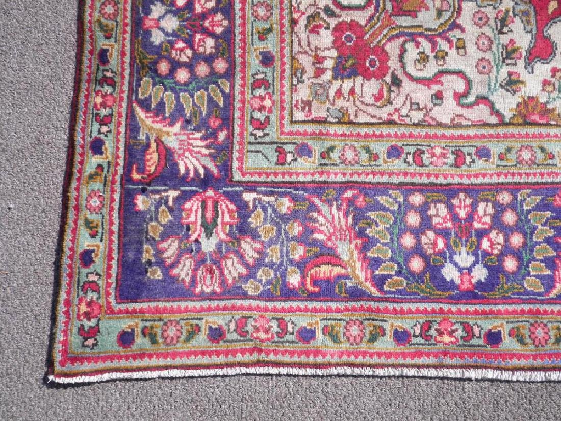 Highly Collectible Semi Antique Persian Tabriz 9.7x6.5 - 5