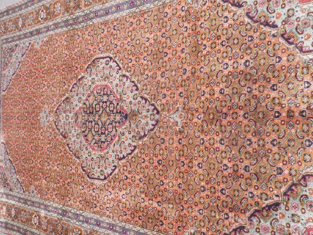 Semi Antique Persian Tabriz Mahi (Fish) Design 9.6x6.3 - 3