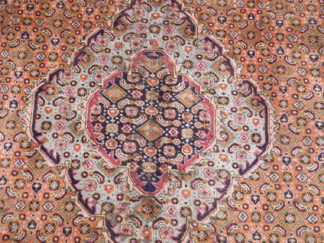 Semi Antique Persian Tabriz Mahi (Fish) Design 9.6x6.3 - 5