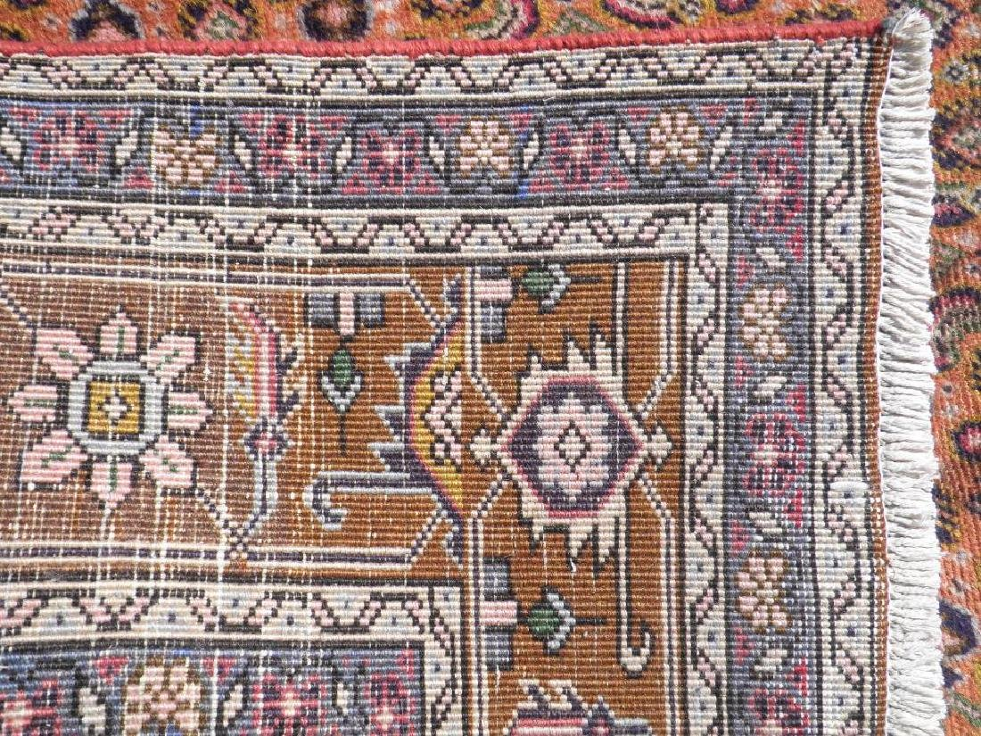 Semi Antique Persian Tabriz Mahi (Fish) Design 9.6x6.3 - 7