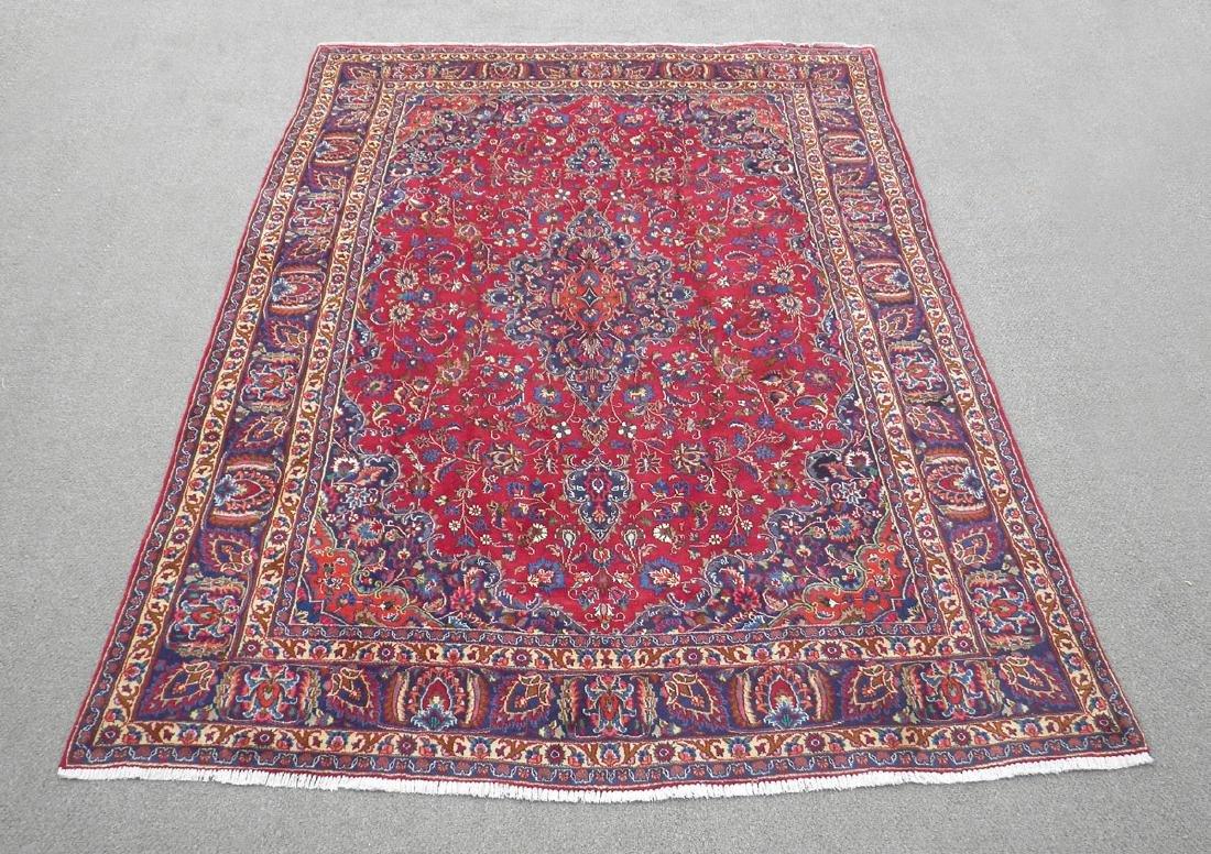 Sensational Semi Antique Persian Mashhad 11.2x7.9