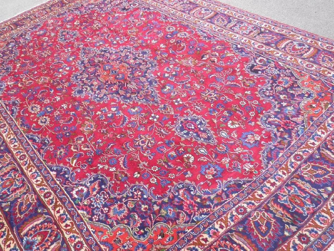 Sensational Semi Antique Persian Mashhad 11.2x7.9 - 2